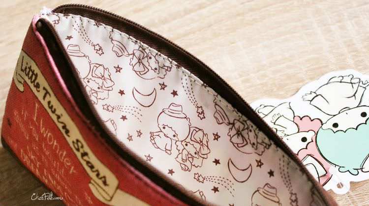 boutique kawaii shop papeterie chezfee sanrio officiel little twin stars trousse 3