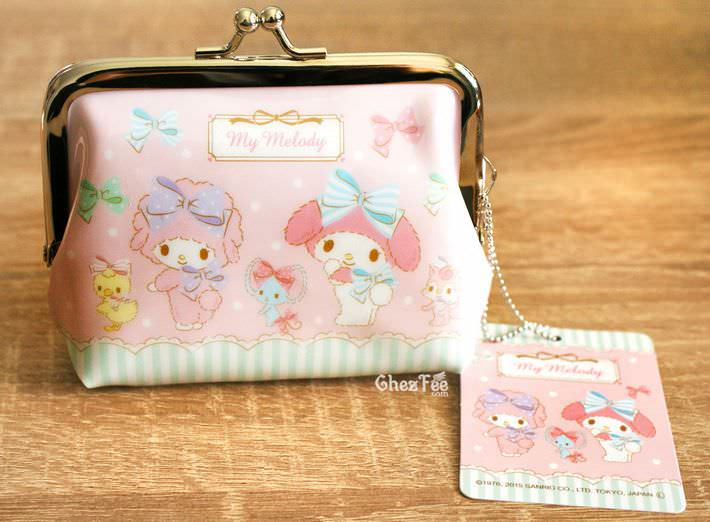 boutique kawaii shop chezfee my melody sanrio porte monnaies strap lolita rose1
