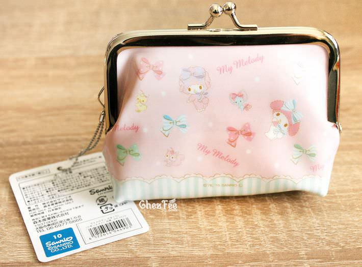 boutique kawaii shop chezfee my melody sanrio porte monnaies strap lolita rose2