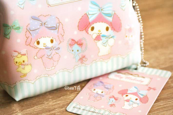 boutique kawaii shop chezfee my melody sanrio porte monnaies strap lolita rose3