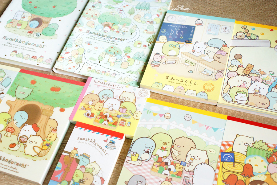 boutique kawaii shop cute sanx officiel papeterie japonaise sumikko gurashi 2s