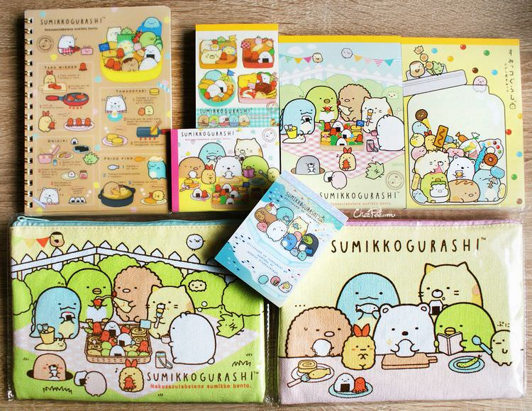 boutique kawaii shop france chezfee japonais papeterie sanx officiel sumikko gurashi 2