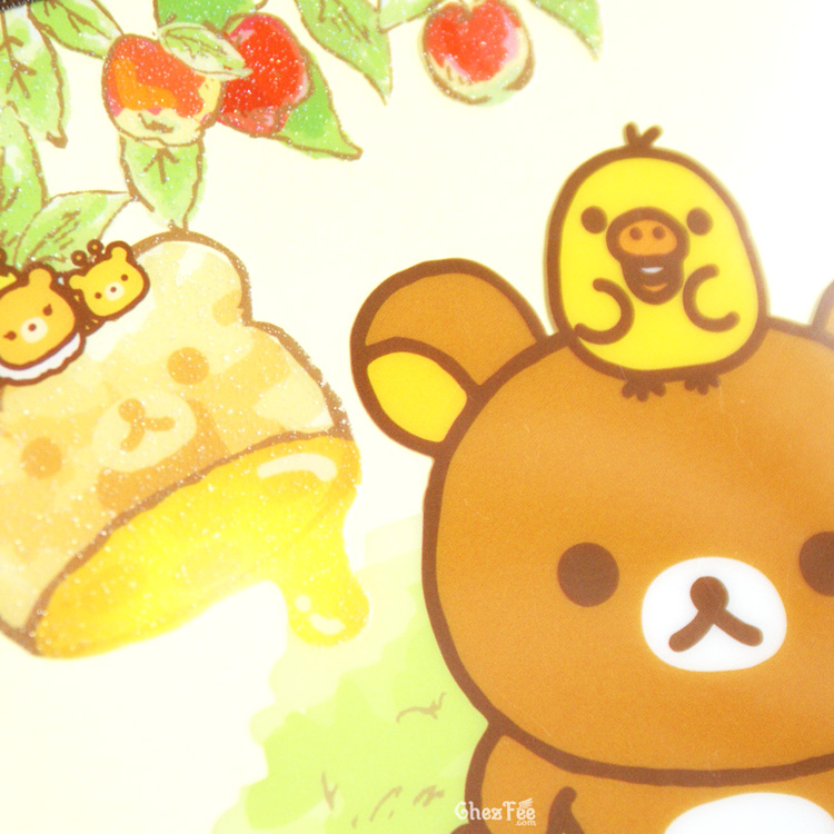 boutique kawaii shop chezfee sanx officiel rilakkuma miel foret carnet illustre abeille 3