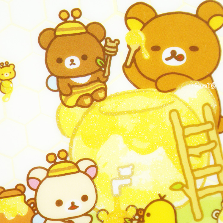 boutique kawaii shop chezfee sanx officiel rilakkuma miel foret carnet illustre miam 2