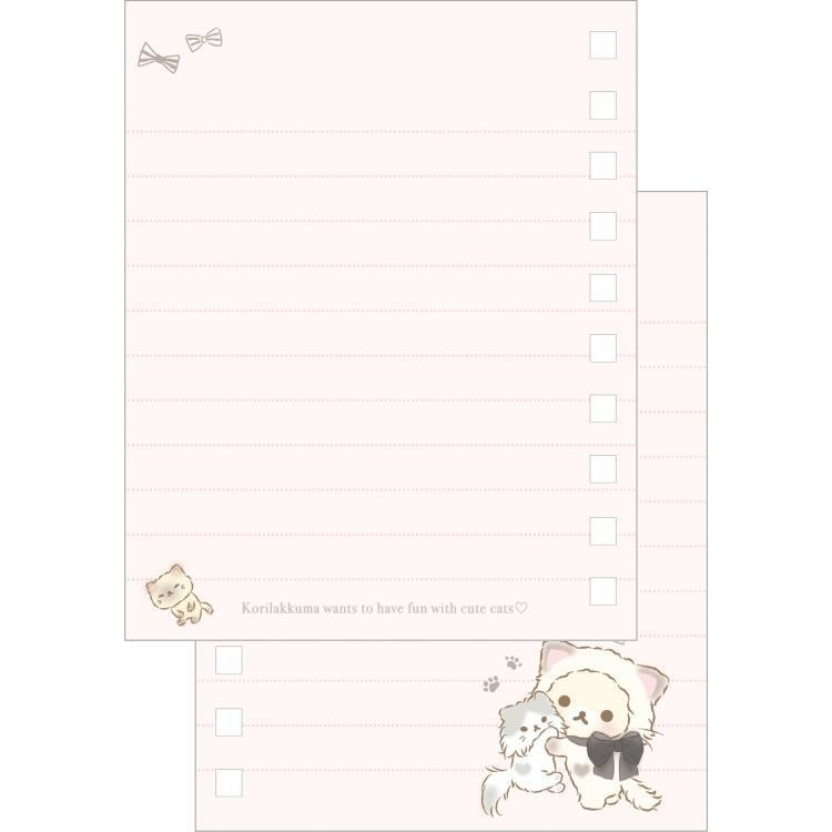 boutique kawaii shop cute chezfee sanx officiel korilakkuma chat neko carnet spiral 2