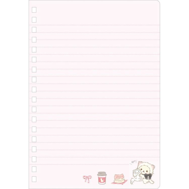 boutique kawaii shop cute chezfee sanx officiel korilakkuma chat neko carnet spiral rose 2