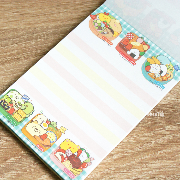 boutique kawaii shop cute chezfee sanx officiel carnet illustre sumikko gurashi bento 7