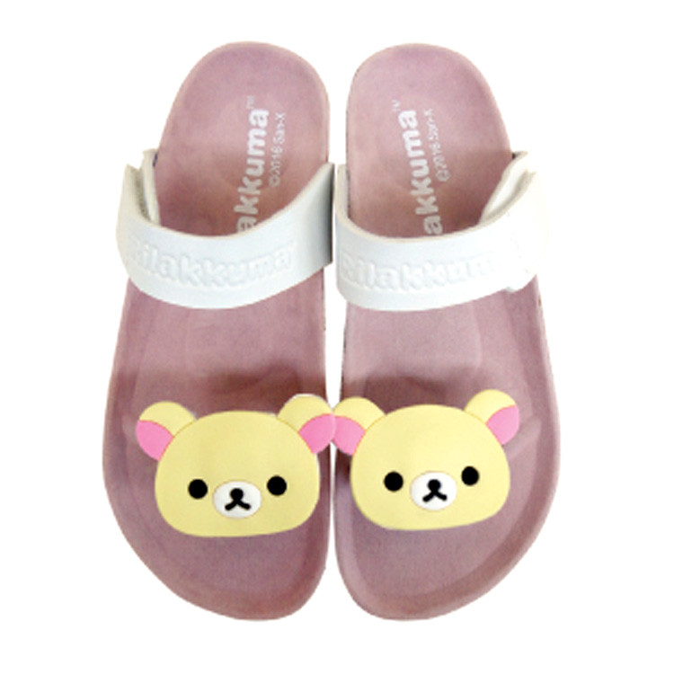 boutique kawaii shop cute chezfee sanx officiel korilakkuma sandale flip flop 1