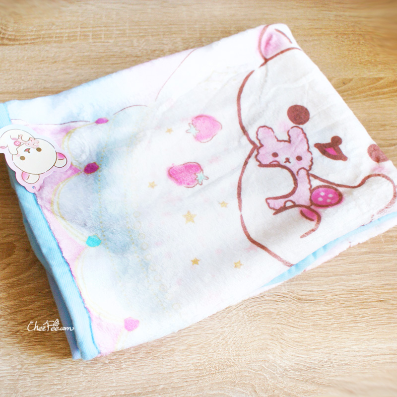 boutique kawaii shop chezfee sanx korilakkuma couverture polaire reve 2