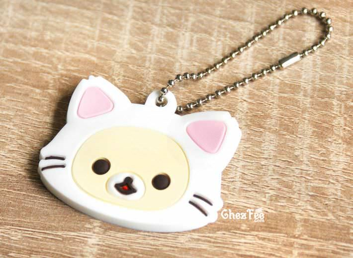 boutique kawaii officiel chezfee sanx gashapon porte clef chat korilakkuma 1