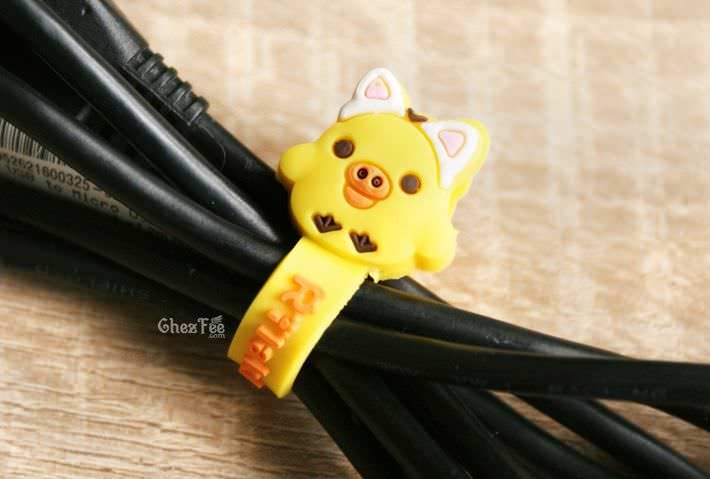 boutique kawaii officiel chezfee sanx gashapon range cable chat kiirotori 1