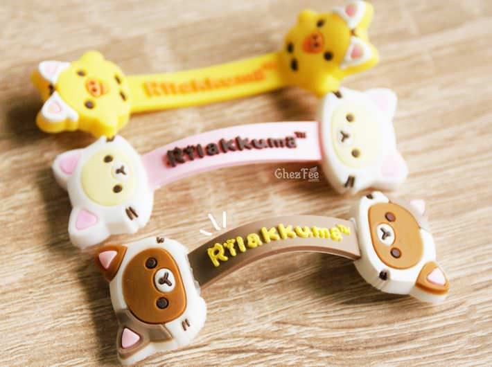 boutique kawaii officiel chezfee sanx rilakkuma chat gashapon range cable 1
