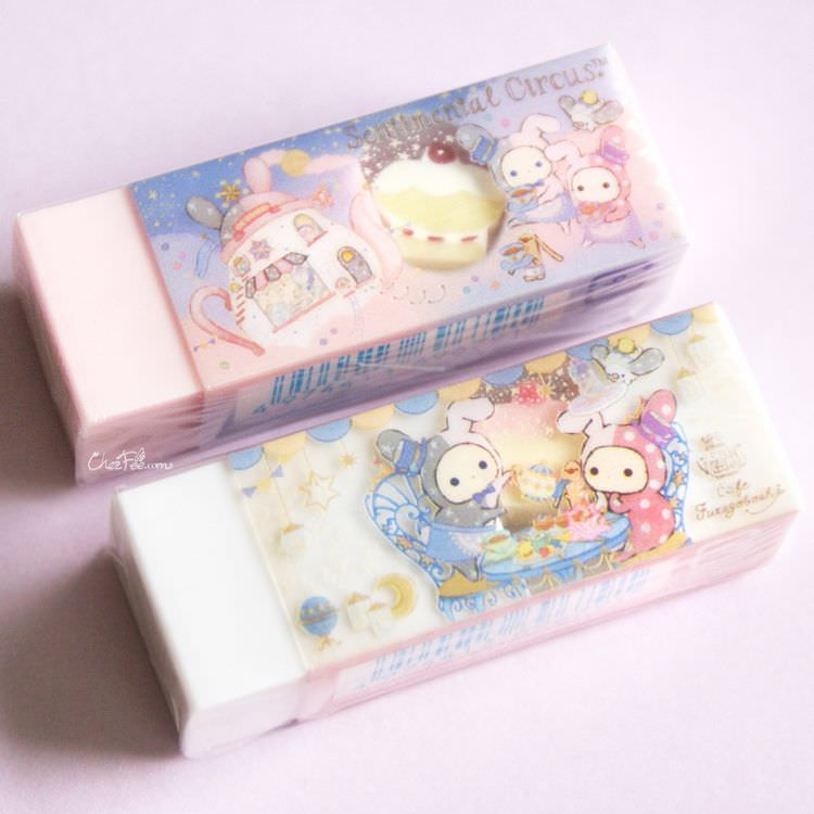 boutique kawaii shop chezfee papeterie japonais gomme sanx sentimental circus cafe 2
