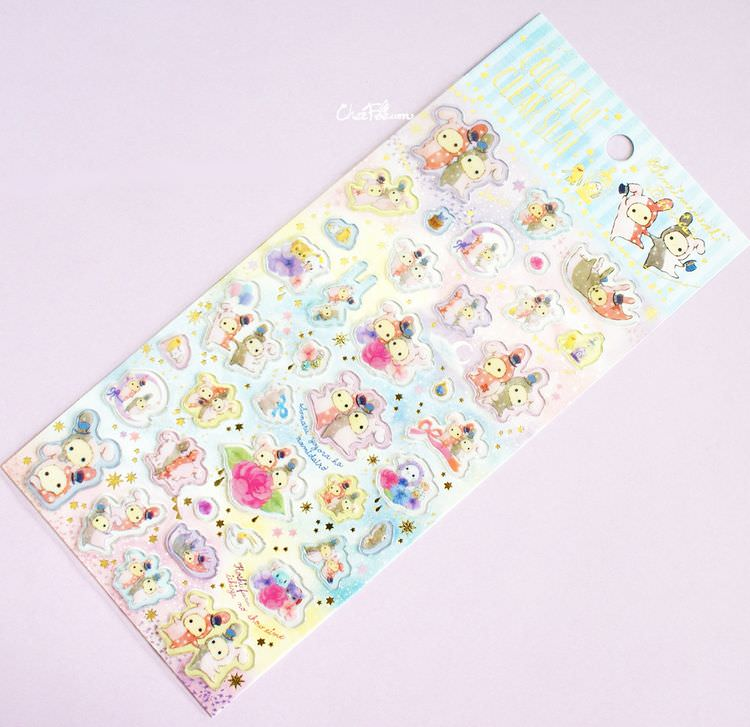 boutique kawaii shop papeterie chezfee sticker autocollant mignon sentimental circus pvc 1