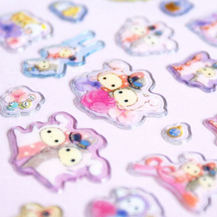 boutique kawaii shop papeterie chezfee sticker autocollant mignon sentimental circus pvc 7