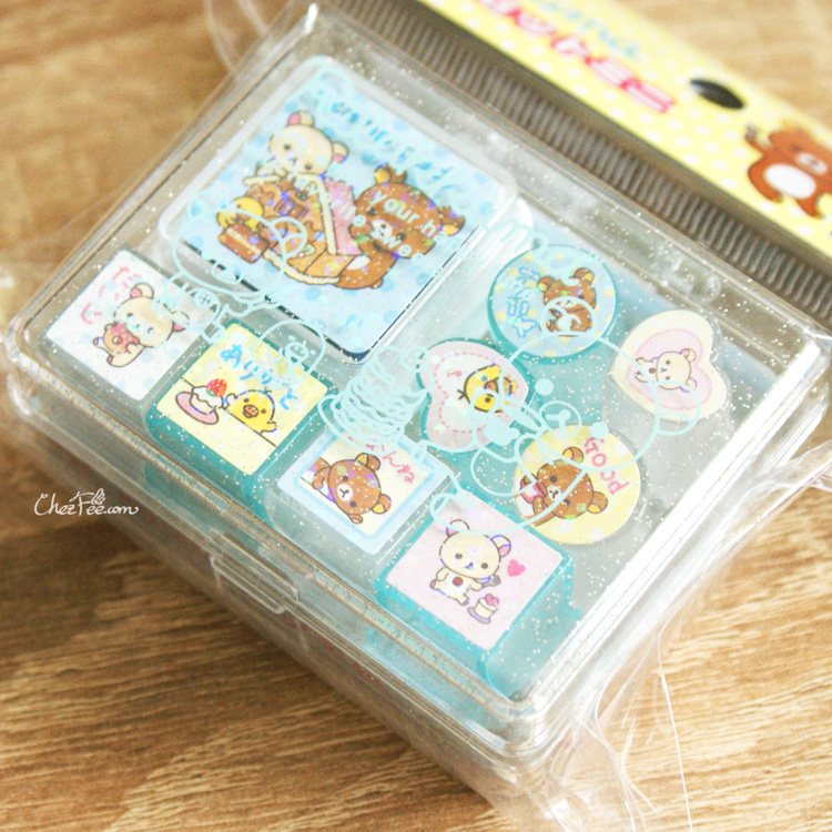 boutique kawaii shop france sanx rilakkuma tampon stamp gateaux 3