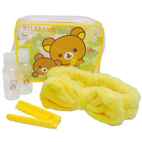 boutique kawaii shop chezfee set trousse toilette kit voyage sanx rilakkuma 6