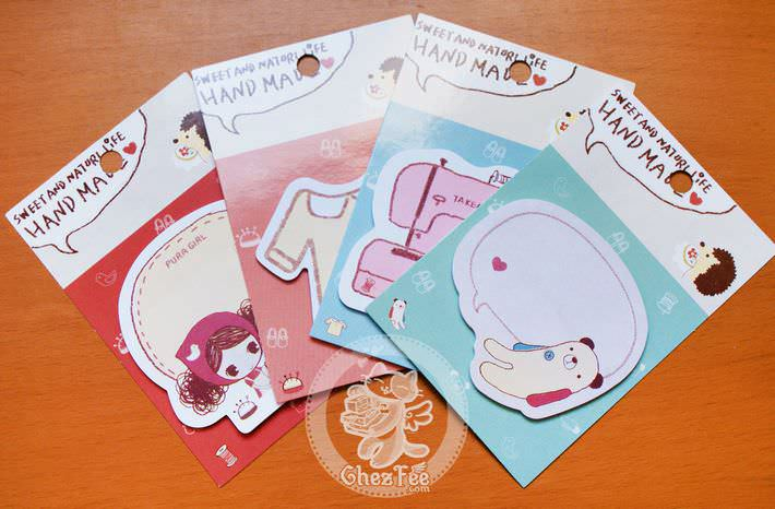sticky note kawaii papeterie boutique magasin en ligne chezfee craft loisir set2