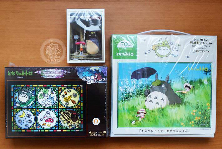boutique kawaii shop authentique chezfee studio ghibli totoro officiel official puzzle2