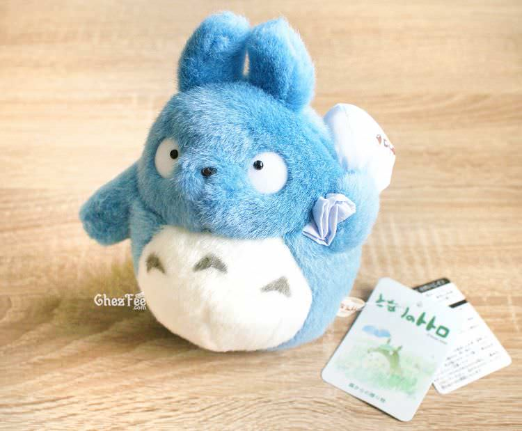 boutique kawaii chezfee com totoro studio ghibli peluche officiel authentique bleu s 1