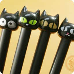 stylo-kawaii-tete-chat-papeterie-boutique-kawaii-shop-chezfee-com-chat-noir-collection