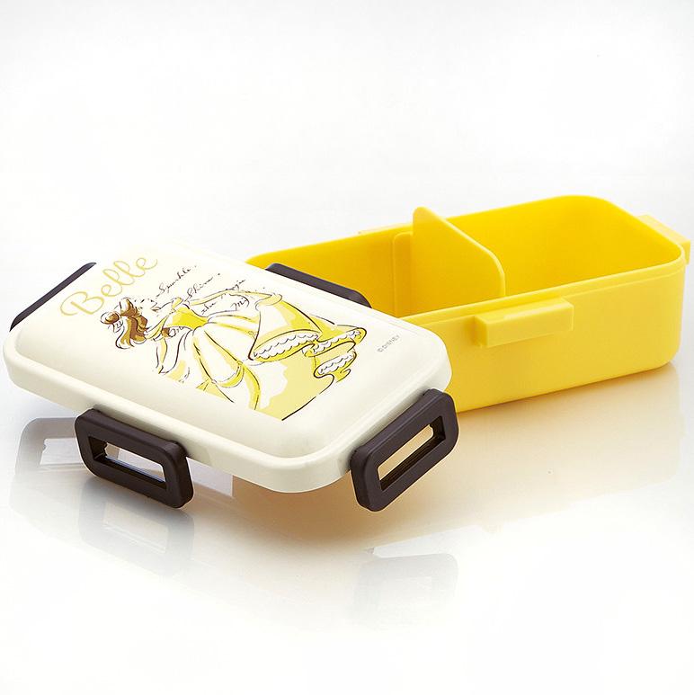 disney japan bo te bento lunch box kawaii disney japan licence belle et b te 530ml. Black Bedroom Furniture Sets. Home Design Ideas