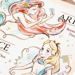 Dessin Kawaii Princesse Disney Raiponce