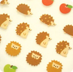 autocollant-mignon-boutique-kawaii-shop-chezfee-com-sticker-ongle-seal-anilaux-herisson