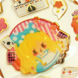 autocollant-mignon-sticker-kawaii-boutique-chezfee-com-conte-fee-3d-reine-neiges-alice
