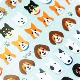 autocollant-mignon-sticker-kawaii-japonais-mindwave-seals-papeterie-boutique-kawaii-chezfee-com-chien