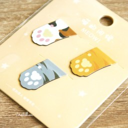 boutique-kawaii-cute-shop-chezfee-rilakkuma-marque-page-magnetique-patte-chat-2