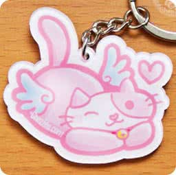 boutique-kawaii-cute-shop-mignon-chezfee-com-porte-cles-chat-aille-ange-no03