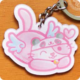 boutique-kawaii-cute-shop-mignon-chezfee-com-porte-cles-chat-aille-ange-no03panda