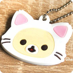 boutique-kawaii-officiel-chezfee-sanx-gashapon-porte-clef-chat-korilakkuma