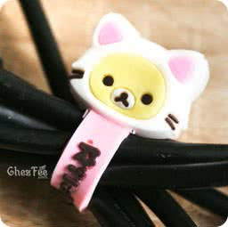 boutique-kawaii-officiel-chezfee-sanx-gashapon-range-cable-chat-korilakkuma2