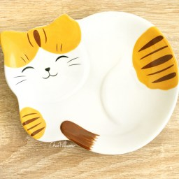 boutique-kawaii-shop-chezfee-assiette-japonais-yakushigama-chat-manekineko-tigre-1