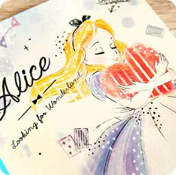 boutique-kawaii-shop-chezfee-disney-japon-papeterie-cahier-alice-amour