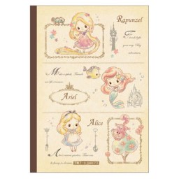 boutique-kawaii-shop-chezfee-france-disney-japan-alice-ariel-cahier-kanji-1