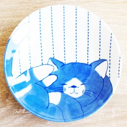 boutique-kawaii-shop-chezfee-vaisselle-japonaise-kawaii-assiette-traditionnelle-chat-noir-1