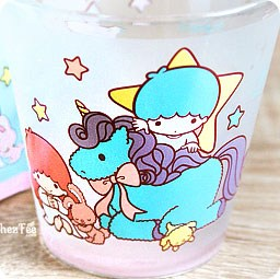 boutique-kawaii-shop-chezfee-verre-sanrio-authentique-little-twin-stars-licorne