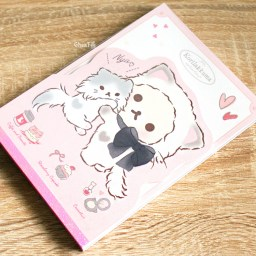 boutique-kawaii-shop-cute-chezfee-sanx-officiel-korilakkuma-chat-neko-carnet-illustre-rose-3