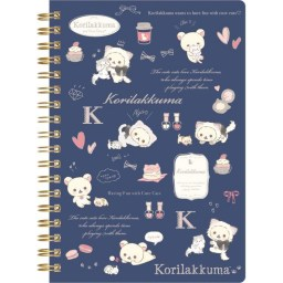 boutique-kawaii-shop-cute-chezfee-sanx-officiel-korilakkuma-chat-neko-carnet-spiral-bleu-1