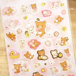 boutique-kawaii-shop-cute-chezfee-sticker-autocollant-japon-sanx-rilakkuma-officiel-2018-sakura-2