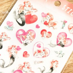 boutique-kawaii-shop-disney-japan-chezfee-sticker-ariel-cosmetique-amour