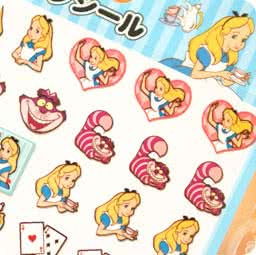 boutique-kawaii-shop-disney-japan-chezfee-sticker-autocollant-alice-pays-merveilles