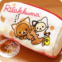 boutique-kawaii-shop-en-ligne-chezfee-trousse-toile-stylo-kawaii-rilakkuma-chat-nonbiri-neko-san-x