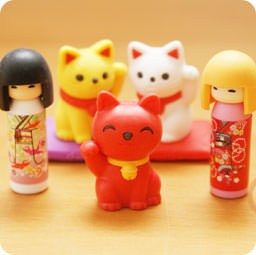 boutique-kawaii-shop-france-chezfee-com-cute-papeterie-gomme-eraser-iwako-japan-japon-kokeshi-manekineko