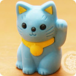 boutique-kawaii-shop-france-chezfee-com-cute-papeterie-gomme-eraser-iwako-japan-japon-manekineko-bleu