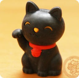 boutique-kawaii-shop-france-chezfee-com-cute-papeterie-gomme-eraser-iwako-japan-japon-manekineko-noir