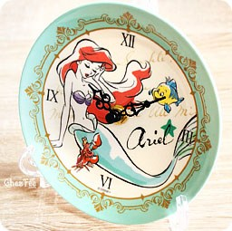boutique-kawaii-shop-france-chezfee-disney-japan-ariel-sirene-horloge-ceramique